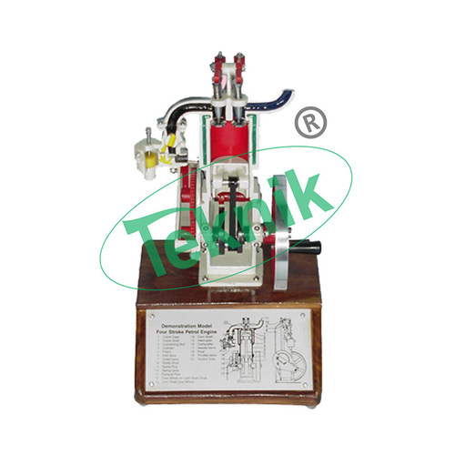 Sectional Working Model of 2 Stroke Diesel Engine
