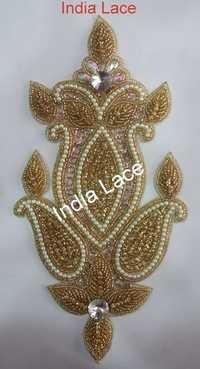 Designer Handmade patch design for saree