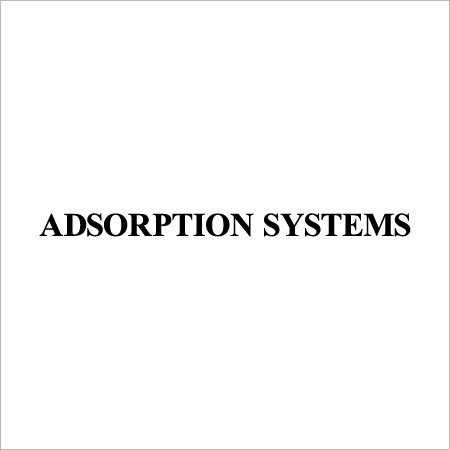 Adsorption Systems