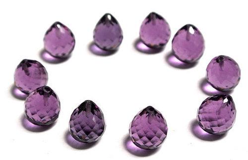 Amethyst Brillito Gemstone Beads