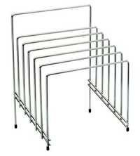 WIRE CHOPPING BOARD STAND-S.S