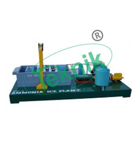 Model Of Ammonia Ice Plant