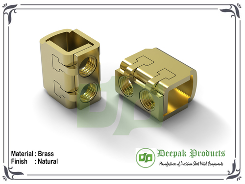 Brass Terminal Clamp Components