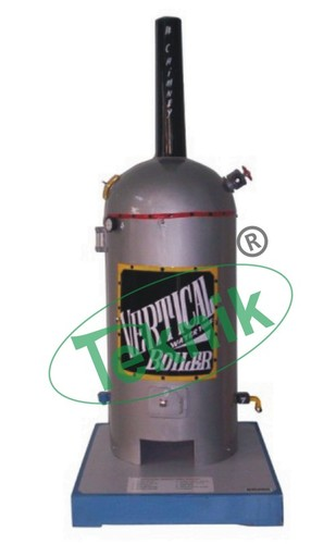 Model of Vertical Water Tube Boiler