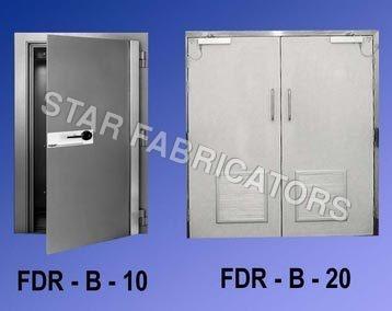 Industrial Stainless Steel Door