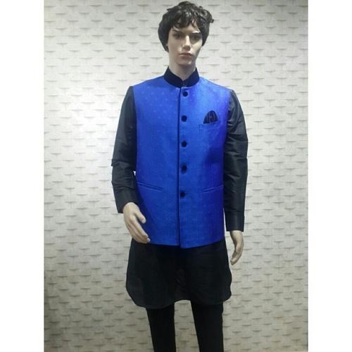 Silk Kurta Pajama With Waist Coat