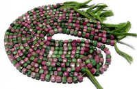 Ruby josite Briolette Gemstone Beads