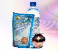 Packed Ganga jal