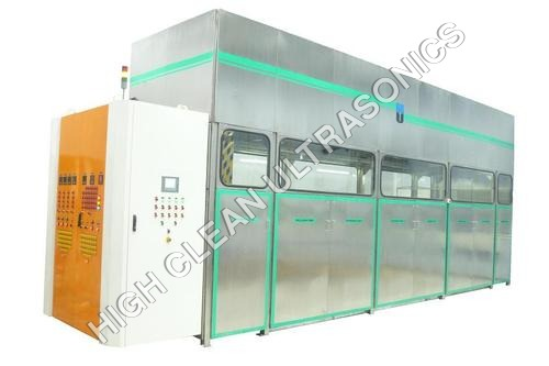 Ultrasonic Material Handling Cleaning System