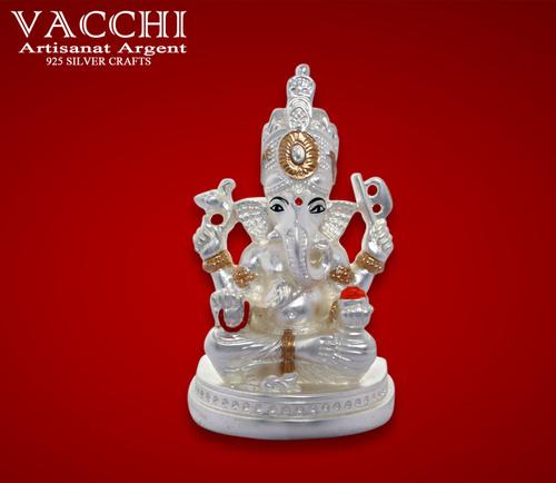 Silver Coated Ganesha