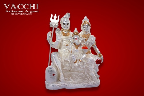 Italian Finish Silver Plated God Statues