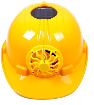 Solar Helmet cum Fan