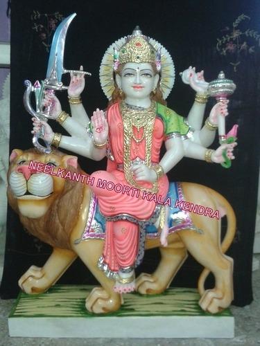Marble Durga Ji Moorti