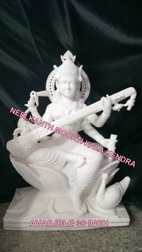 Saraswati Marble Statues