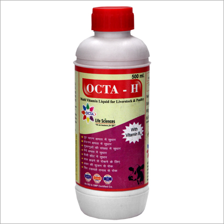 Veterinary Multi Vitamin with H
