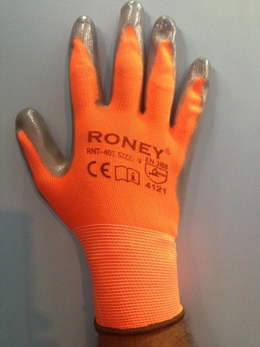 PU Coated Hand Gloves