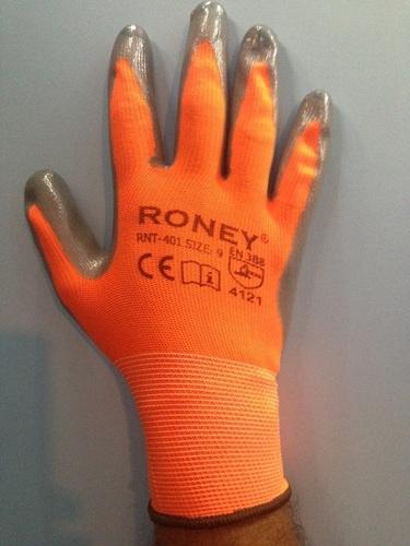 PU Coated Hand Gloves