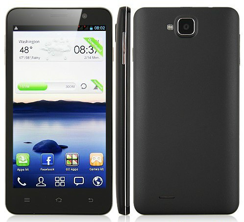 Smart Phone Android 4.2 MTK6589 Quad Core 5.0'' HD IPS 1G 4G