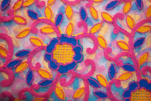 Embroidery Fabrics Supplier Surat