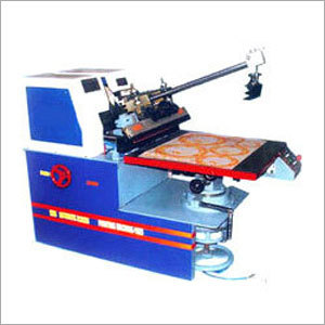 Semi Automatic Screen Printing Machine