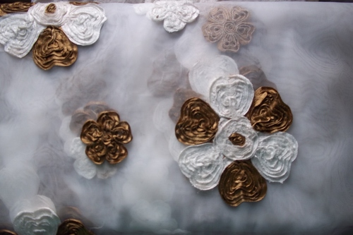 Cotton Dyeable Jacquard Silk