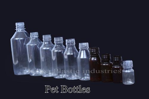 Transparent Plastic Pet Bottle