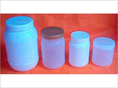 Round Plastic Jars
