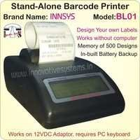 Stand-Alone Barcode Label Printer