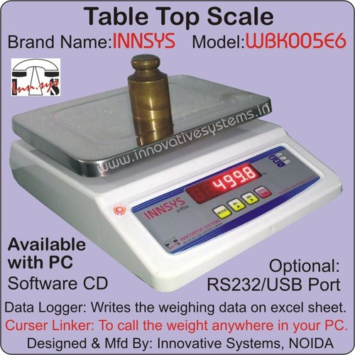 Data Logger Scale with PC Port - Data Logger Scale with PC