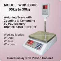 Dual Display Counting & Computing Scale