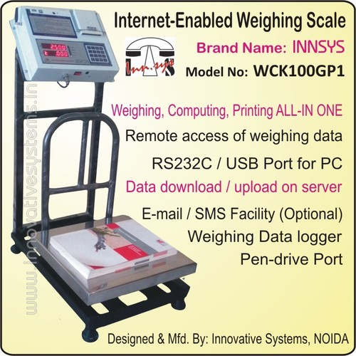 Internet Enabled Weighing Scale