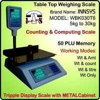Triple Display Computing & Counting Scale