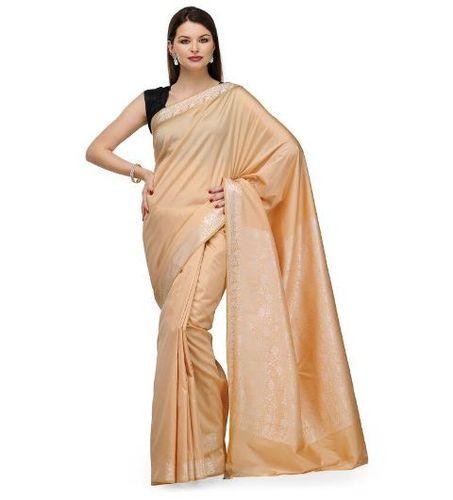 Silk sarees with zari work