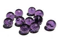Amethyst Briolette Gemstone Beads