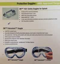 safety Goggle M.NO- 1621