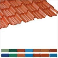 Color Coated Tile Sheet