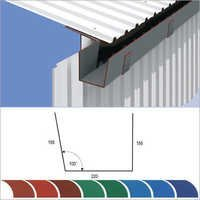Colour Coated Gutter