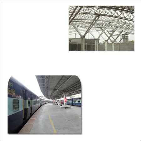 Infrastructural Structural for Railway Platform