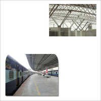 Infrastructural Structural for Railway Platform