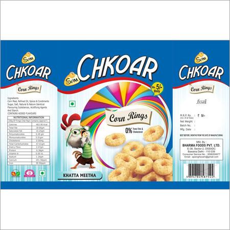 Corn Rings Snacks