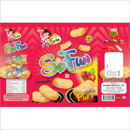 Salty Puff Snacks