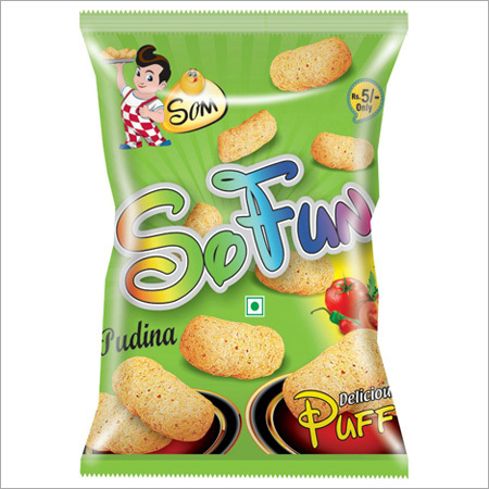 Pudina Puff Snacks