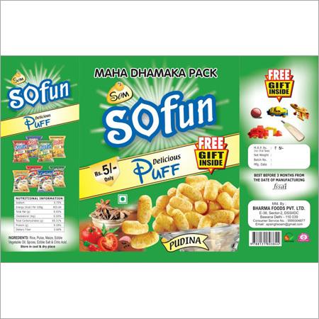 Pudina Puff Corn