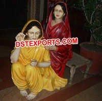 Punjabi Cultural Fiber Statues Manufacturer
