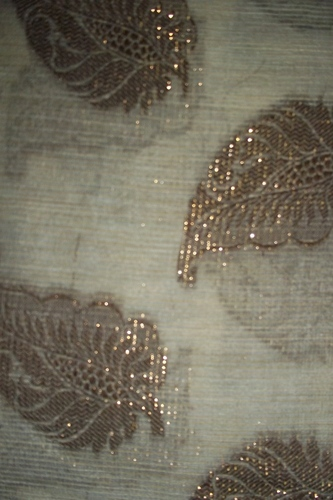 Floral Net Embroidery Fabric
