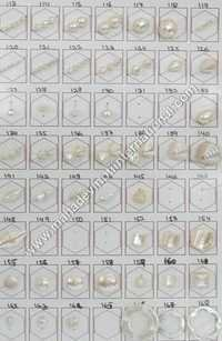 Plastic White Pearl Beads