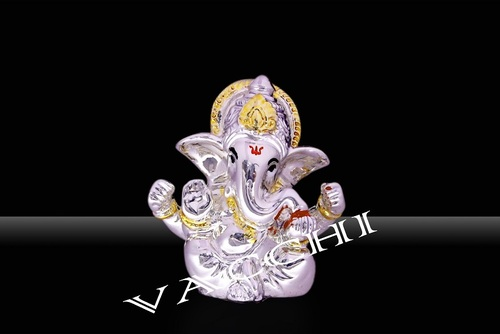 Silver Plated Ganesh