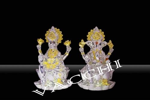 Shinning Silver Plated God Idols