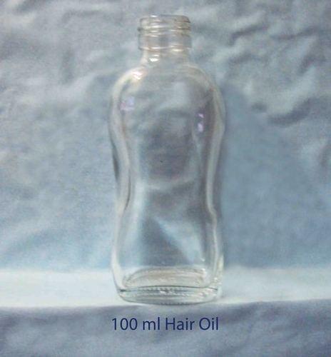 Hair Oil Glass Bottle