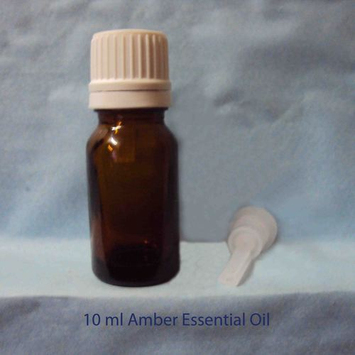 10 Ml Amber Glass Bottle With Dropper